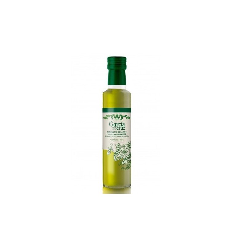 OLIVE OIL WITH BASIL 250 ml